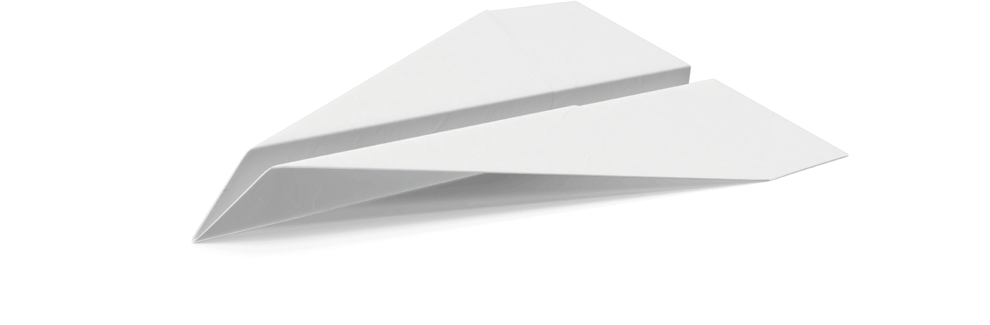 papieren vliegtuig e-learninig